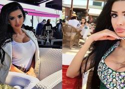 """Azərbaycanlı holdinq rəhbərinin qızının """"Instagram"""" FOTOları"""