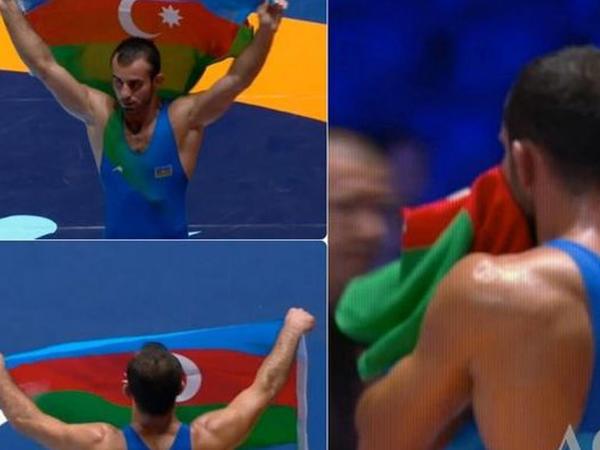 Elvin Mürsəliyev bürünc medal qazandı