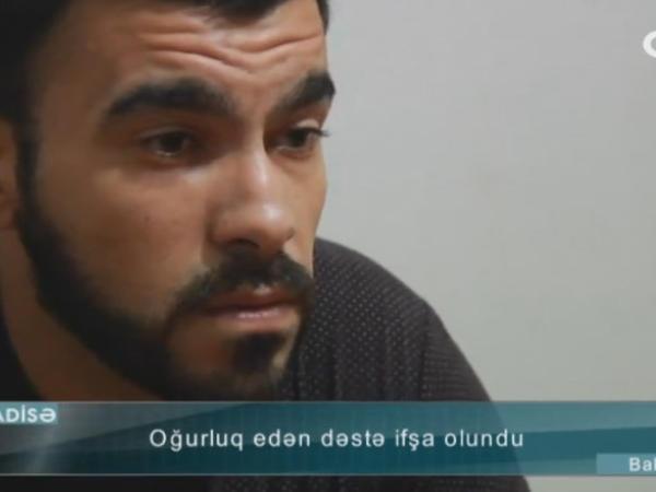 """""""Qorxub pulu tullamışam"""" - Keçmiş həyat yoldaşı ilə 15 min oğurlayan şəxs - VİDEO - FOTO"""