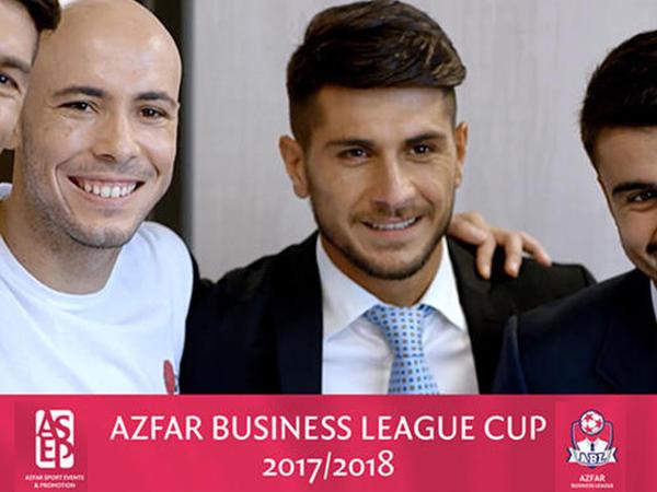 """Riçard Almeyda """"Biznes-liqa"""" ABL Cup mini-futbol turnirinin siması oldu - VİDEO"""