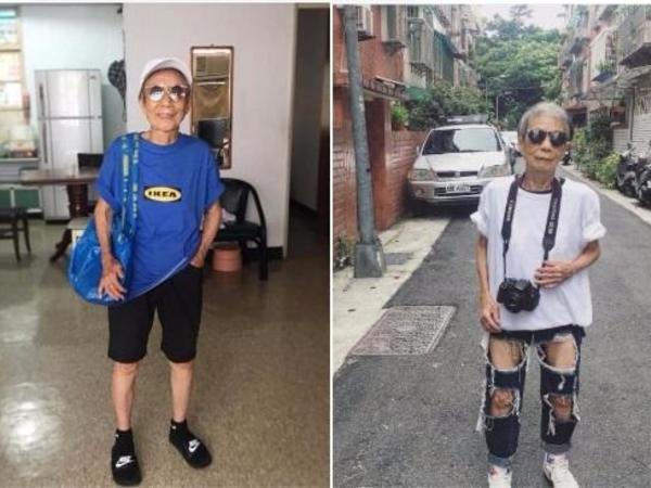 88 yaşında internet fenomeni oldu - FOTO