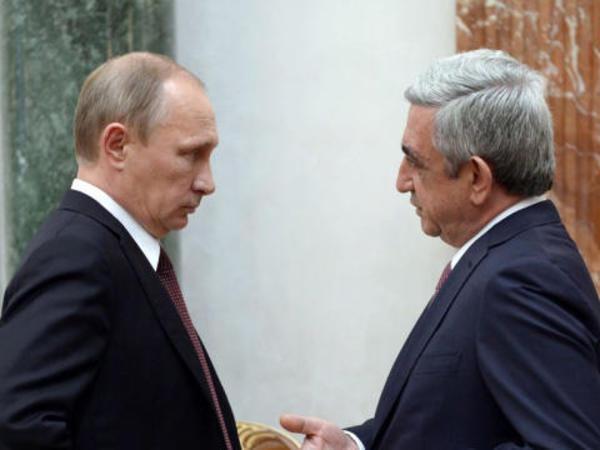 Putin Sarkisyanla Dağlıq Qarabağı müzakirə edəcək