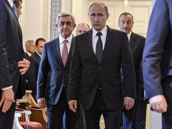 Putin Əliyevdən sonra Sarkisyanla görüşür - Qarabağ danışıqlarında tərpəniş var?