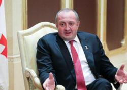 """Gürcüstan prezidenti: """"Azərbaycanlılar əsl dostlarımız olduqlarını göstərdilər"""""""