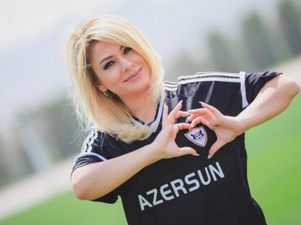 """""""""""Qarabağ"""" qalib gəlsə, ərə gedəcəm""""- <span class=""""color_red"""">Teleaparıcıdan cəsarətli FOTOlar</span>"""
