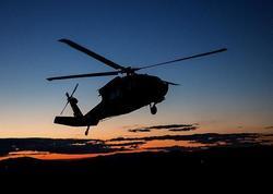 ABŞ helikopteri Yəmən sahillərində qəzaya uğradı