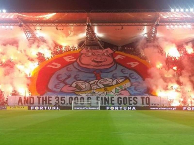 UEFA Polşa klubunu növbəti dəfə cəzalandırdı
