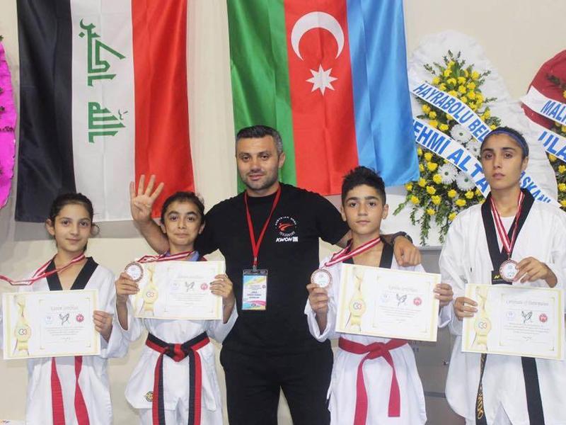 Taekvondoçularımız Türkiyədə 6 medal qazandılar
