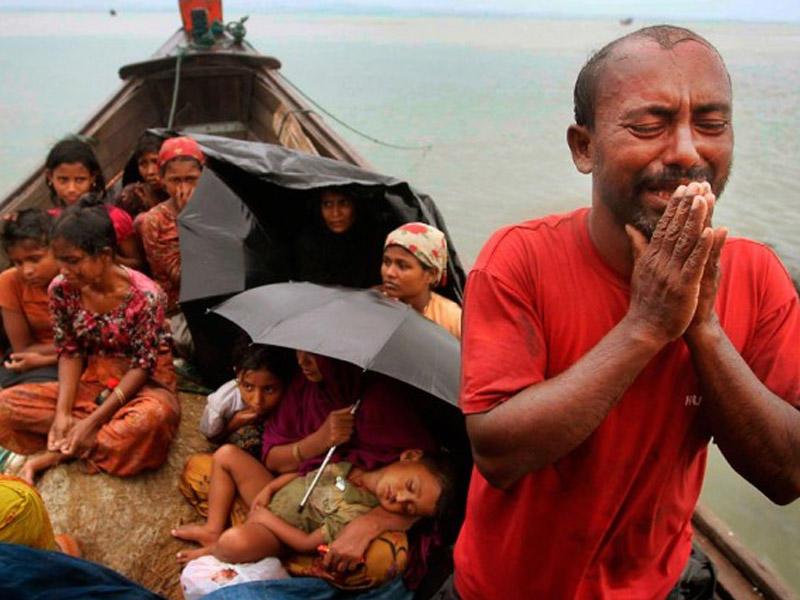 Birmada müsəlman soyqırımı: Körpələrin başları kəsilir, onlar diri-diri yandırılır - GÖRÜNTÜLƏR 21+