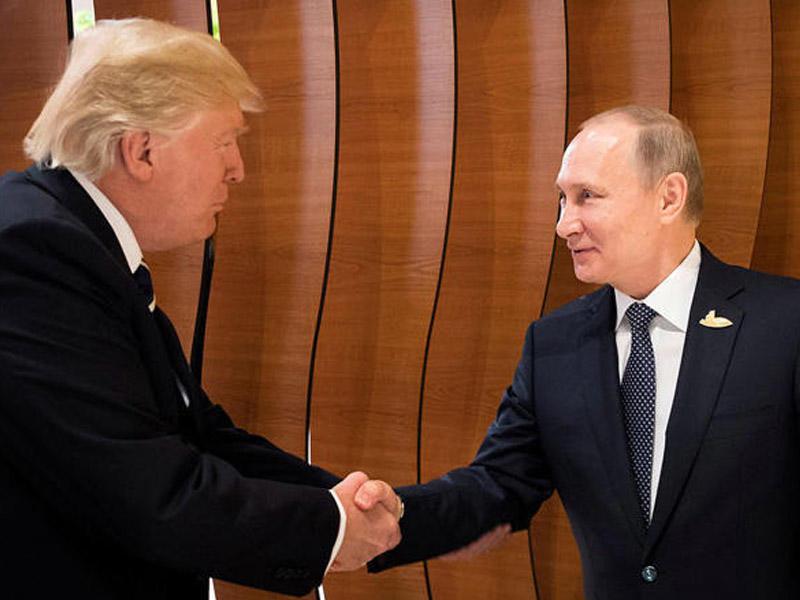 Tramp Putini ABŞ-a dəvət etdi