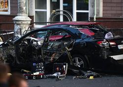 Kiyevdə avtomobilin partlaması nəticəsində Gürcüstan vətəndaşı ölüb