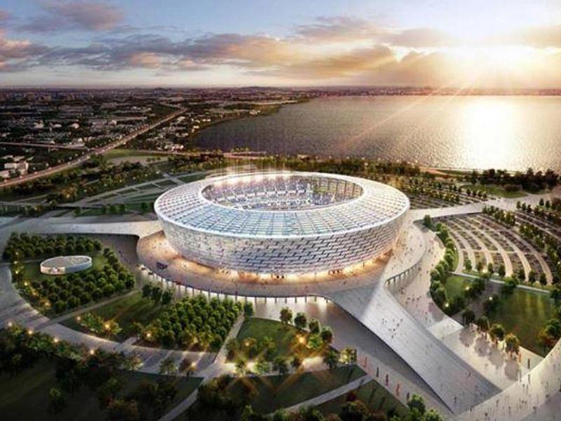 İspaniya millisi Bakı Olimpiya Stadionunda