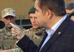 """Saakaşvili yüzlərlə tərəfdarı ilə Ukraynaya girdi - <span class=""""color_red"""">Sərhəddə dava düşdü - VİDEO - FOTO</span>"""