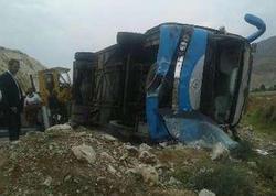 İranda avtobus aşdı: 11 ölü, 28 yaralı