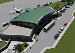 Ermənistan Azərbaycanla sərhəddə hava limanı tikir - FOTO
