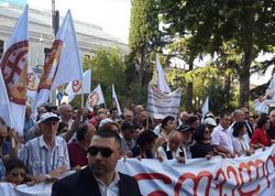 Gürcüstanda etiraz aksiyaları başlayıb