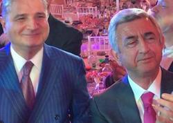 Sarkisyanın iştirak etdiyi toyda Azərbaycan mahnısı - VİDEO - FOTO