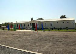Hərbi Hava Qüvvələrinin hərbi hissəsində yeni yaşayış kompleksi istifadəyə verildi - FOTO