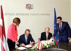 Azərbaycan və Latviya Ədliyyə nazirlikləri əməkdaşlığa dair memorandum imzalayıb