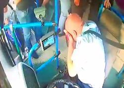 Bakıda daha bir avtobus sürücüsü vəhşicəsinə döyüldü - VİDEO