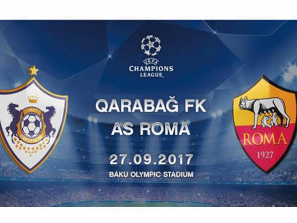 """UEFA """"Qarabağ"""" - """"Roma"""" matçı ilə bağlı statistikanı açıqladı"""