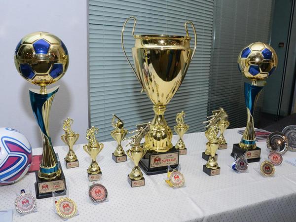 Bakıda AZFAR Business League-ABL Cup 2017/18 çempionatının təqdimatı keçirilib - FOTO