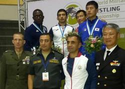 Güləşçilərimizdən Dünya çempionatının ilk günündə 5 medal - FOTO