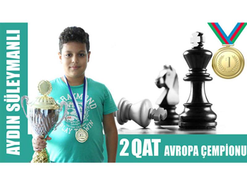 12 yaşlı azərbaycanlı şahmatçı Avropa çempionu oldu