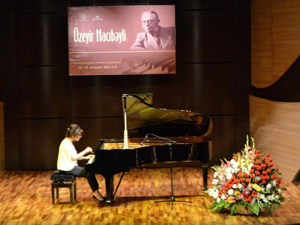 Muğam Mərkəzində fortepiano musiqisi gecəsi keçirildi - FOTO