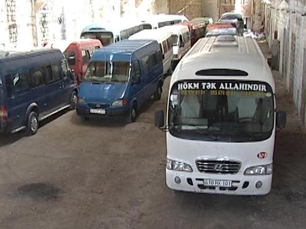 Bakı-Sumqayıt avtobuslarına qarşı reyd keçirildi - FOTO