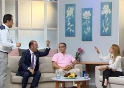 """Faytonçu Nazim jurnalistə hücum çəkdi: """"Mənim günümə sənin yaxınların düşsün"""" - VİDEO - FOTO"""