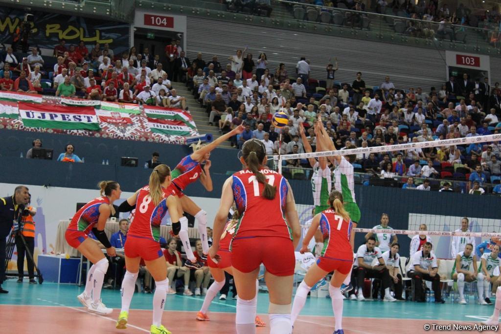 Voleybol üzrə Avropa çempionatının ilk günü - Nəticələr və təqvim