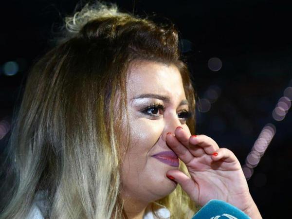 Qızı Aygünün konsertində ağladı - FOTO