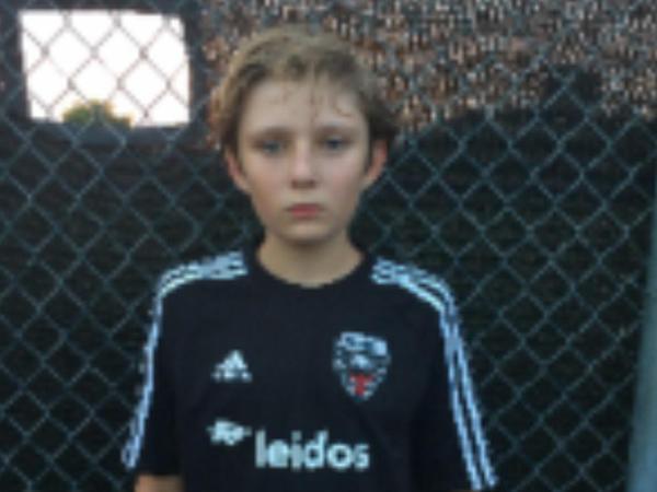 Trampın oğlu uşaq komandasında futbol oynayır - FOTO