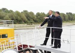 Prezident İlham Əliyev Salyan və Neftçala rayonlarına səfər edib - YENİLƏNİB - FOTO