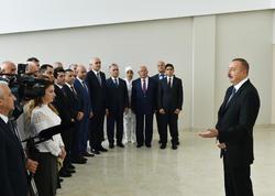 Azərbaycan Prezidenti: Tezliklə bütün rayonlarda sənaye zonaları yaradılacaq