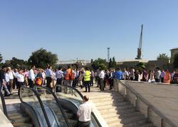 Bakıda BP binasında tüstülənmə: işçilər təxliyə edildi - FOTO - YENİLƏNİB