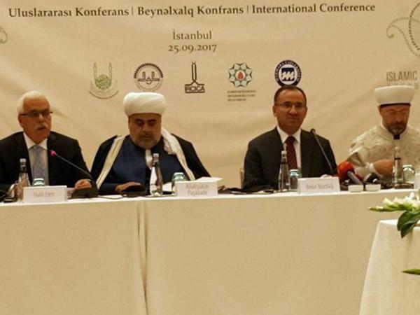 """Allahşükür Paşazadə: """"Azərbaycan İraqın şimalında keçirilən referenduma qarşıdır"""" - FOTO"""