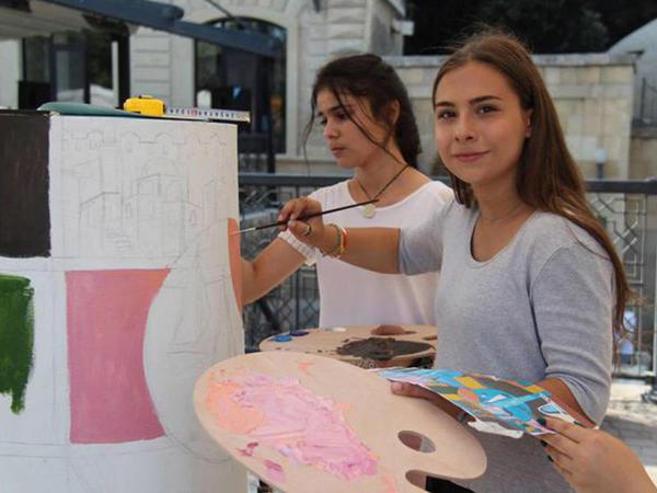 """""""Qız qalası"""" VII beynəlxalq incəsənət festivalı başa çatıb - FOTO"""