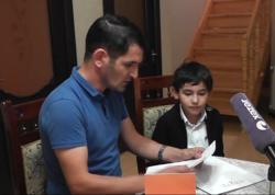 Azərbaycanlı vunderkind Ruslan Səfərovun atası danışdı - VİDEO