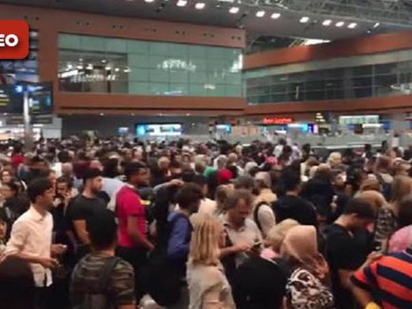 TƏŞVİŞ: 1000 sərnişin İstanbul aeroportunda qaldı - VİDEO