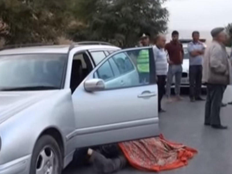 Sürücü sükan arxasında vəfat etdi - VİDEO - FOTO
