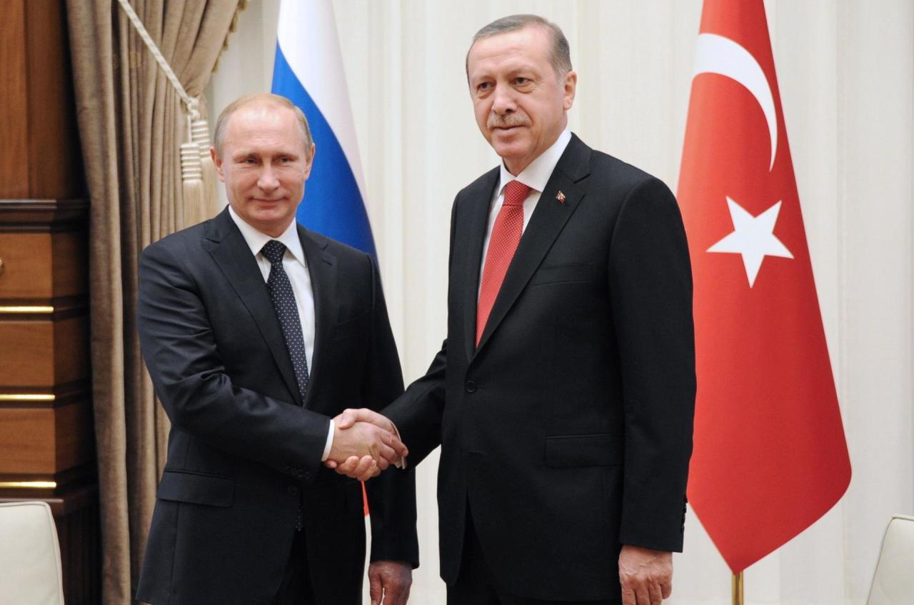 Ankarada Putin-Ərdoğan görüşü başladı