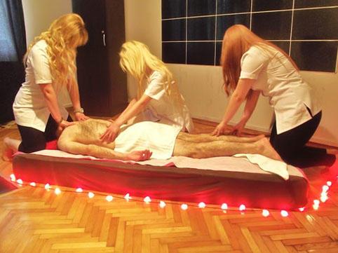 Bakıdakı masaj salonunda gizli çəkiliş:
