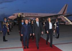 Bolqarıstan prezidenti Azərbaycana gəlib - FOTO
