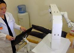 Robot masajçı işə başlayıb - VİDEO