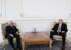Prezident İlham Əliyev Yunanıstan səfirinin etimadnaməsini qəbul edib - FOTO