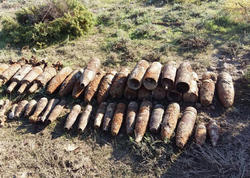 Sumqayıt ərazisində 40 partlayıcı qurğu tapıldı - FOTO