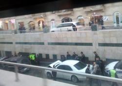Bakıdakı yeraltı tuneldə 3 avtomobil toqquşdu - FOTO