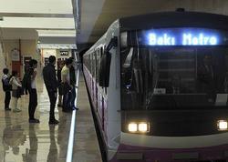 Bakıda gənc qız metroda intihara cəhd etdi - FOTO